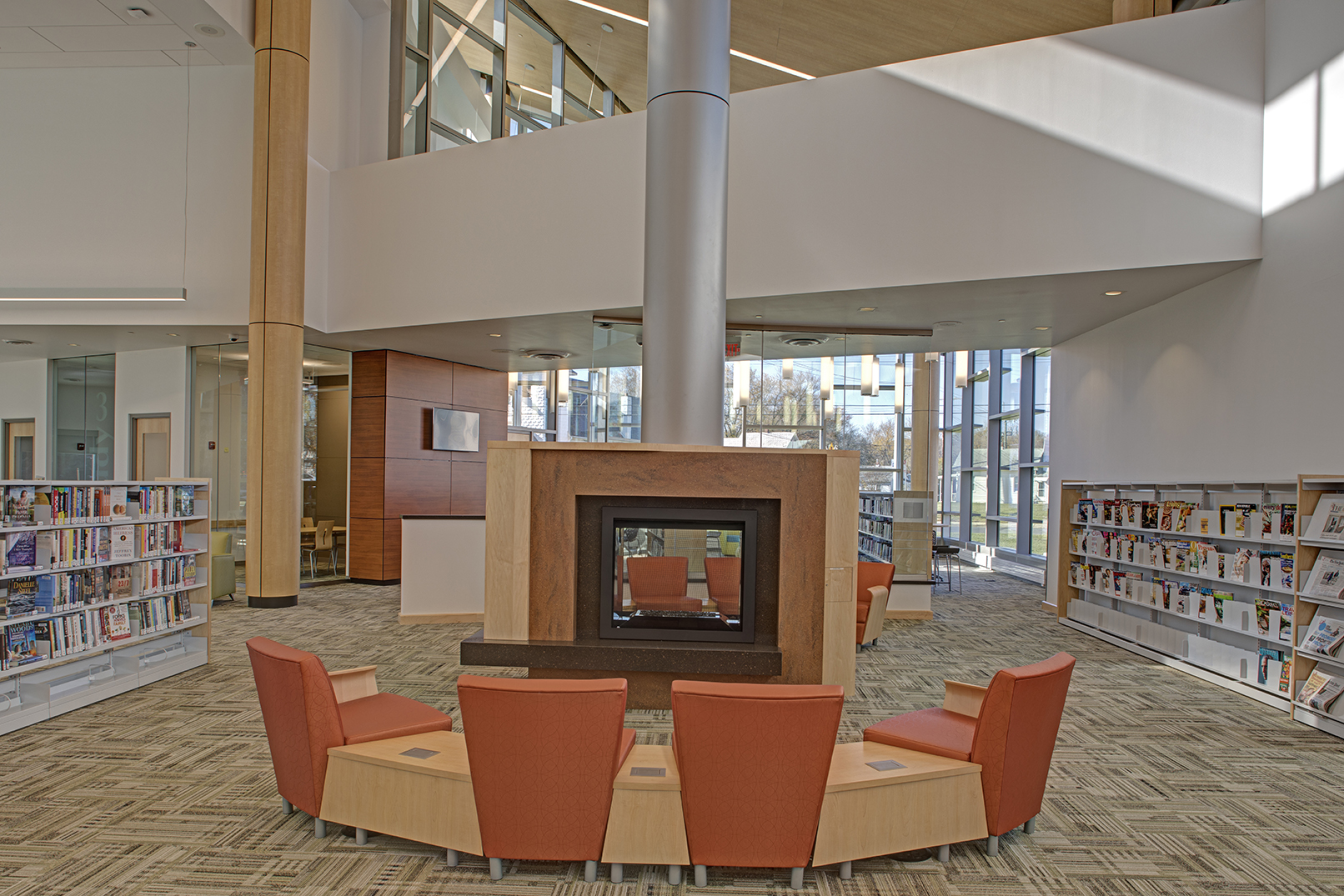 Pg County Memorial Library System Laurel Library Douron